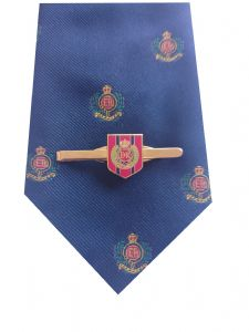 Royal Corps of Engineers Tie & Tie Clip Shield Set p299